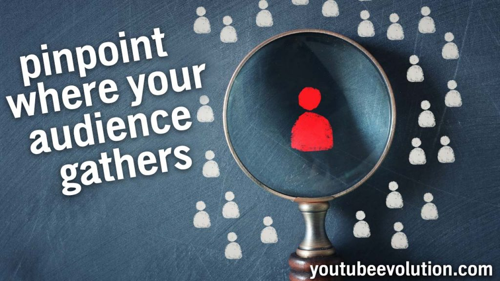 find your youtube audience